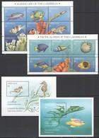 Y682 1995 GRENADA FISH & MARINE LIFE #3023-37 MICHEL 34,5 EURO 2BL+2KB MNH - Vie Marine