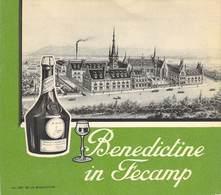 "CPA / CARTE DE VISITE / DEPLIANT FRANCE 76 ""Fécamp, Vin Bénédictine - Fécamp"
