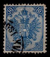 "BOSNIA-AUSTRIA, ""COAT OF ARMS"" 1st PLATE 10 Kr MIXED PERFORATION 13 : 12 RARE!!!!!!!!!! - 1850-1918 Empire"