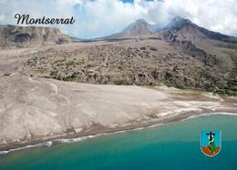 Montserrat Island Overview New Postcard - Antilles