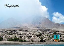 Montserrat Island Plymouth View New Postcard - Antilles