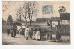 TOURNY - CARREFOUR ET MARE DU FRAICHAUD - 27 - Frankreich