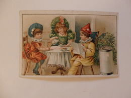 Chromo (10,5cm/7cm) La Magicienne Droulers Fils à Fresnes (59). - Chromos