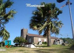 Montserrat Island Saint Peter Church New Postcard - Antilles