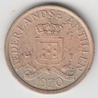 @Y@    Nederlandse Antillen  1  Cent  1970   ( 4585 ) - Netherland Antilles