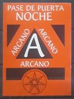 ALCORCON. ARCANO LOCAL DE COPAS. - Tarjetas De Visita