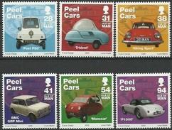 Ile De Man 2006  Yvertn° 1336-1341 *** MNH  Cote 13,50 Euro Automobiles Peel Cars - Man (Eiland)
