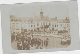 Ronse - FOTOKAART Van Festiviteiten In De Binnenstad Uit De Jaren 1900 - Renaix - Ronse