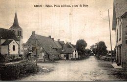 CROS EGLISE PLACE PUBLIQUE ROUET DE BORT - Frankrijk