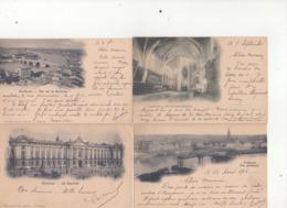 6 CPA - 31 - 1 - TOULOUSE - CORRESPONDANCES  D'UN POILU A SA MERE  EN 1916 - RECITS DE SES ACTIVITES  - - Toulouse