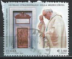 Italy. Scott # 3359 Used High Value. Giubileo Della Misericordia 2015 - 6. 1946-.. Republik