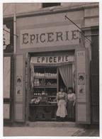 Carte Photo Magasin Commerce Epicerie Au N° 201 Ville à Localiser Marseille ? Pub Savon Le Chat Chocolat Lombart - Caffé
