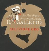 # UVA IL GALLETTO ORO SICILIA GRAPE Italy Fruit Tag Balise Etiqueta Anhänger Cartellino Uva Raisin Uvas Traube - Fruits & Vegetables