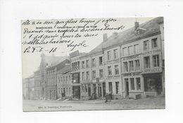 BASTOGNE 1910  GRAND RUE ET L' HOTEL DE VILLE - Bastogne