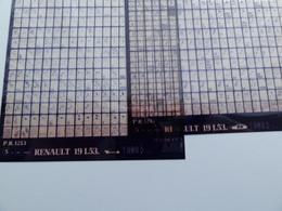 Microfiche Renault 19  L53  1989  Pr1213 Lot De 2 - Stereoscopi