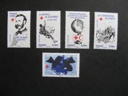 TB Série N° 4386 Au N° 4390 , Neufs XX. - France