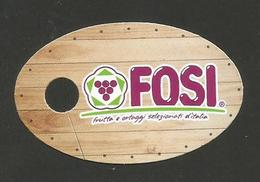 # UVA FOSI GRAPE Italy Fruit Tag Balise Etiqueta Anhänger Cartellino Uva Raisin Uvas Traube - Fruits & Vegetables
