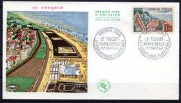 FDC FRANCE 1962 - N° 1355 - Le Touquet-Paris-Plage - FDC