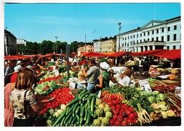 CP1204 Finland Helsinki Market Place Place Du Marché - Finlande