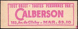 FRANCE Carnets ** 1331-C2, Série 102-63: 0.25f. Coq De Decaris, Calberson CALBERSON - Definitives