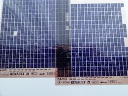 Microfiche Renault 21 L48A  1986>  Pr 1172 Lot De 2 - Stereoscopi