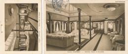 Nederlands Indië - 1927 - 7,5 Cent Cijfer Op Fotokaart D.S.S. Tjerimai Van Postagent Naar Tarakan / Borneo - Uit Boekje - Netherlands Indies