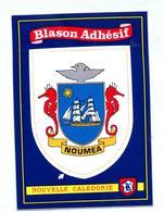 Carte Blason Adhesif Noumea - Nuova Caledonia