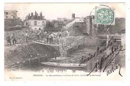Péronne (80 - Somme) Le Démentèlement à La Porte De Paris - Peronne