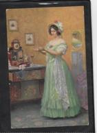 AK 0415  Schuster , C. - Vor Der Promenade / Künstlerkarte Um 1917 - Peintures & Tableaux