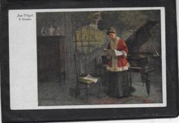 AK 0415  Pressler , R. - Am Flügel / Künstlerkarte Um 1910-20 - Peintures & Tableaux
