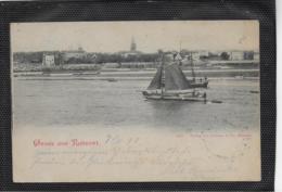 AK 0415  Gruss Aus Ruhrort - Verlag Andrene & Co Um 1898 - Duisburg