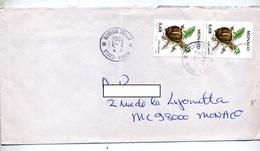 Lettre Cachet  Monte Carlo Sur Escargot - Machine Stamps (ATM)