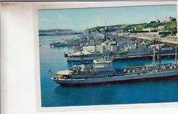 29- Brest L Escadre Au Quai Des Flotilles Cpsm Gm - Brest