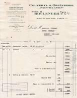 CRETEIL SUR MARNE 75 PARIS FACRTURE 1951 Couverts & ORFEVRERIE  BOULENGER & CIE Argenterie  A105  Seine - 1950 - ...