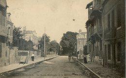 455D...La Route Nationale Et La Mairie - Mers Les Bains