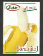 # BANANA BANANITO SOLAR SPREAFICO Fruit Tag Balise Etiqueta Anhänger Cartellino Banane Platano - Fruits & Vegetables