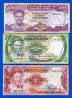Swaziland  3  Billets - Swaziland