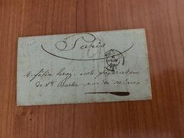 LETTRE DU 6 JUIN 1850 DE MARSEILLE POUR PARIS   ( Voire Scan Photo ) - Port Offert- - 1849-1876: Klassieke Periode