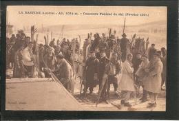 LA BASTIDE (Lozère) - Concours Fédéral De Ski (Février 1931) -- SKIS - SKIEUR - SPORT - NEIGE - France