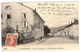 GERARDMER (88) - Station De Forgottes - L' Ecole Primaire Supérieure - Ed. E. L. D. - Gerardmer