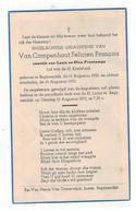 DP Van Campenhout Felicien François,geboren Begijnendijk 1952,zoontje V Louis En Elisa Printemps, Gestorven 1952 - Religion & Esotericism