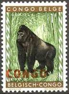 Congo 1960 (MNH) (Mi 33)  - Gorilla (Gorilla Gorilla) - Gorilas