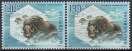 Hungria 2009 (MNH) (Mi 5335I-5335II) -  Muskox (Ovibos Moschatus) - Briefmarken