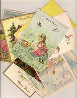 (C).Augurali Buona Pasqua.Lotto 10 Cartoline Viaggiate Anni 50'/60' (8-a20) - Pasqua