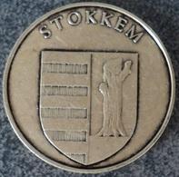 4059 Vz Stokkem - Kz Dilsen-Stokkem - Gemeentepenningen