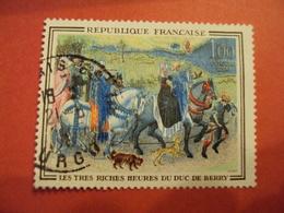 """1965      -oblitéré   N°  1457    """"  Duc De Berry    """"         Net  1 - Usados"""