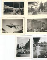 Lot De 10 Photos Anonymes - Bruxelles Expo 1958 - Dmensions 9.5 / 7 Cm - Lieux