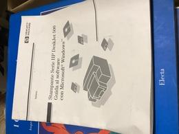 STAMPANTE HP DESKJET 500 ISTRUZIONI - Libri, Riviste, Fumetti