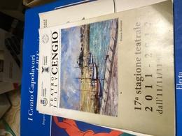 TEATRO CENGIO 2001/12 - Libri, Riviste, Fumetti