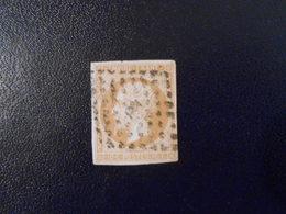 FRANCE YT13B NAPOLEON III, EMPIRE.FRANC 10c.bistre Losange PC - 1853-1860 Napoleon III